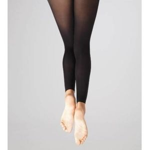 Capezio Footless Tight Ultra Soft Ankle Black 1817